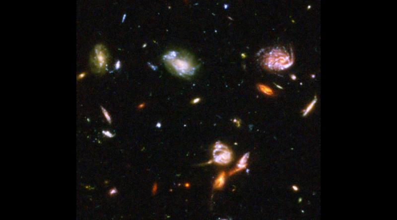 Nous sommes bien petits devant l'Univers